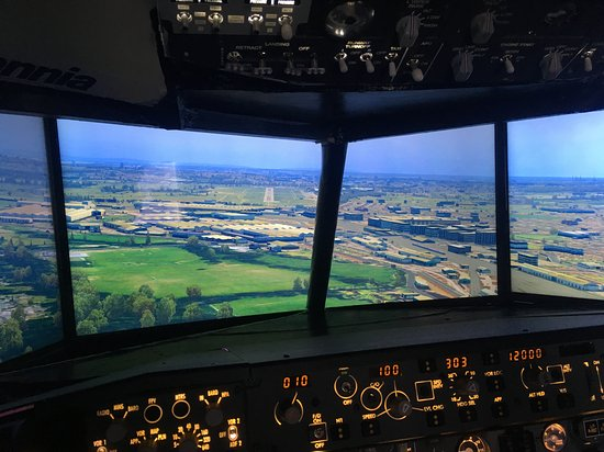Britannia Flight Simulator