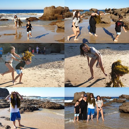 A day at Caves Beach