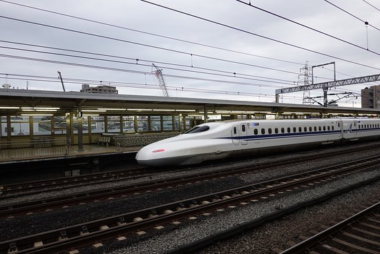 Fastest high speed train in the world (Tokyo-Kyoto