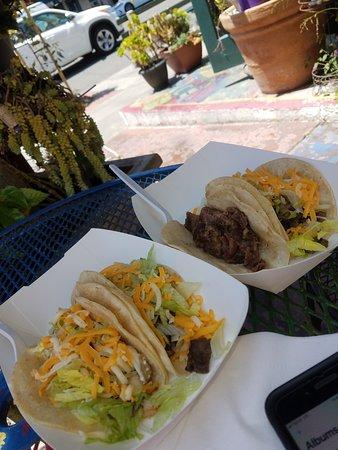 Adolfo's Mexican Food: 1 Fish, 1 Lengua, 2 Carne Asada