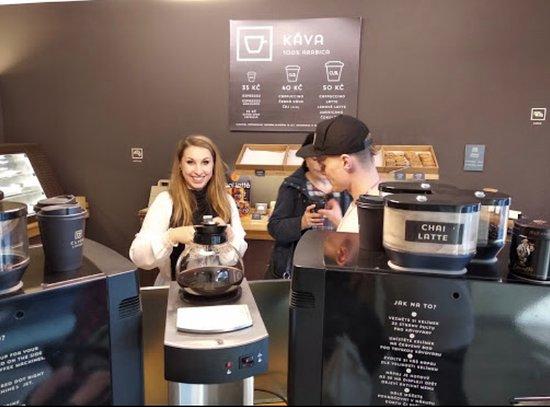 Nice cafe - Click Coffee, Prag Resmi - Tripadvisor