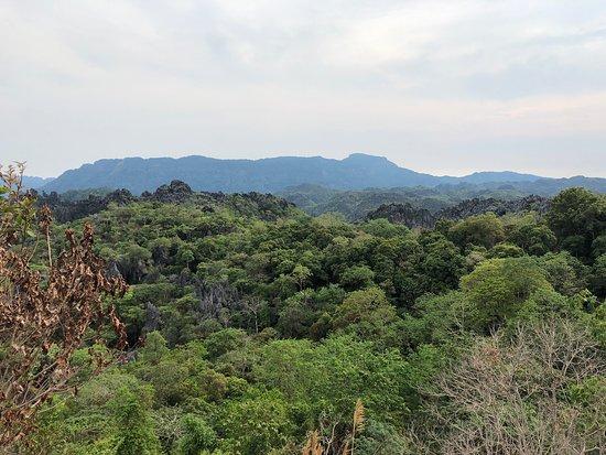 Limestone Forest (Hin Boun) Viewpoint