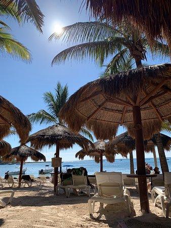 Beach chairs/umbrellas