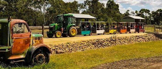 Myuna Farm train ride