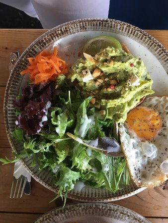 Avocado Salad Picture Of Good Day Coffee Chatan Cho Tripadvisor