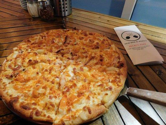 Uma boa pizza