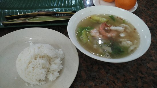 Fish Soup With White Rice Picture Of Rm Yong Kee Batam Tripadvisor