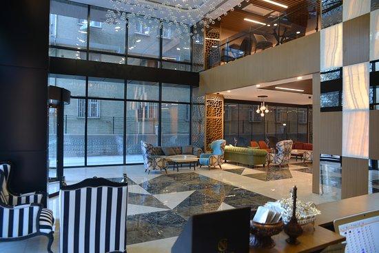 Lobby Picture Of New Garden Hotel Diyarbakir Tripadvisor