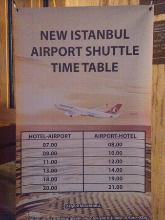 Hilton Garden Inn Istanbul Ataturk Airport: Shuttle that can save you money and time