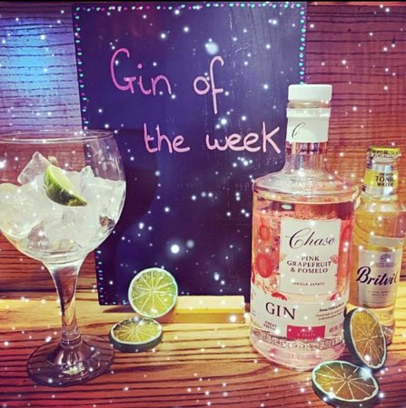 Gin of the week is Chase Pink Grapefruit and Pomelo! Available as part of our Gin Festival to the 30th June