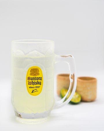 Tongara Sour, a combination of shochu, kalamansi and soda water. More intense than lemon but another perfect choice during summer.