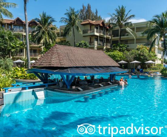 Swim Up Pool at the Pools at the Phuket Marriott Resort & Spa, Merlin Beach