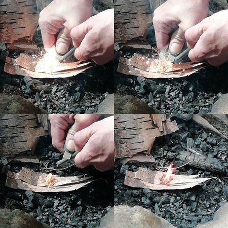 مقاطعة ديرهام, UK: Private Bushcraft / survival courses available, covering topics such as, firelighting, cordage making, camp craft, Shelter building, water collection, filtration and purification.