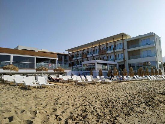 Ammos Beach Resort located at the beach