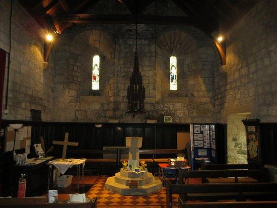 Longframlington, UK: Church interior.