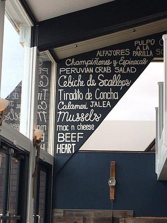 La Costanera: menu preview 