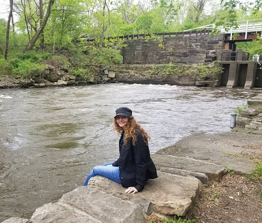 Stockton, Nueva Jersey: Great place to sit and relax. Just listen to the water and smell the fresh air.