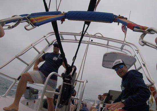 San Diego Parasailing: The crew