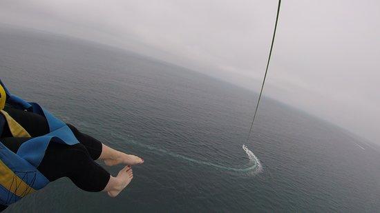 San Diego Parasailing: It's high!