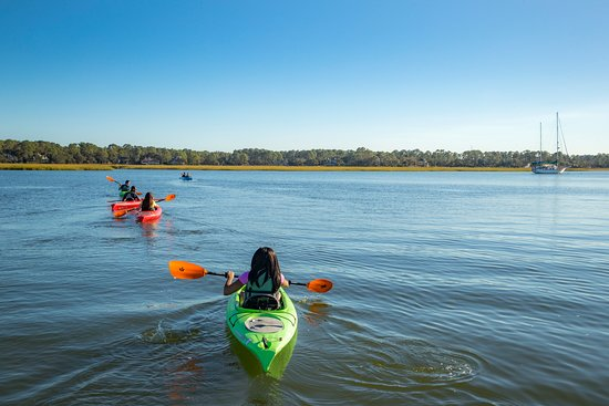 There are plenty of ways to make a splash on Hilton Head Island: set sail on a fishing charter or hop aboard a dolphin-watching cruise, grab a paddle and head out on a kayak or paddleboard adventure. Or, try surfing, sailing or waterskiing. Whether you prefer to be in the water, or on it, there's a Hilton Head Island water activity for everyone.