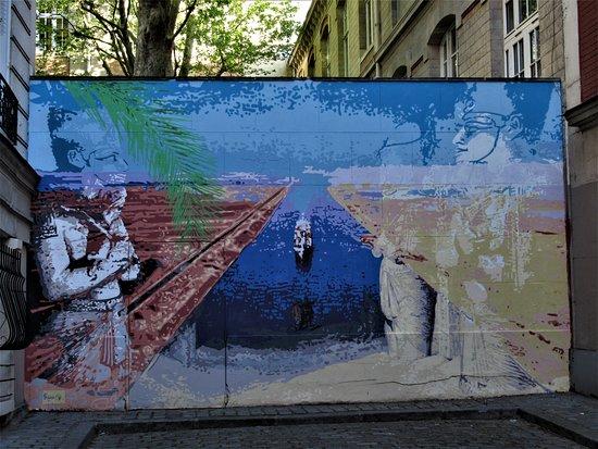 """Fresque """"Canal de Suez"""""""
