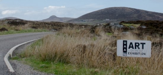 North Uist, UK: Spot the studio