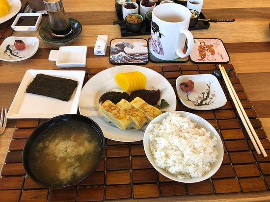 New Ashford, ماساتشوستس: The AMAZING Japanese breakfast - SO good!!!