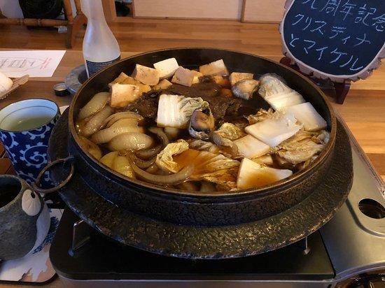 New Ashford, ماساتشوستس: Sadao's incredible beef sukiyaki for two! 