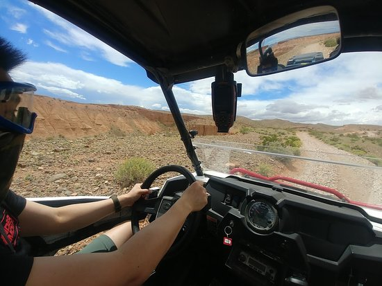 Ultimate Desert Adventures: Awesome terrain, UTVs equipped with GPS, radio and cooler