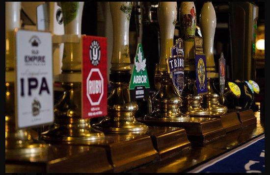 West Huntspill, UK: Bar