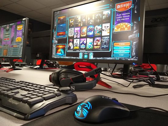 North Canton, OH: With our wide selection of video games, we have something for everyone to enjoy. Plus, our 144hz Acer monitors are pretty sweet.