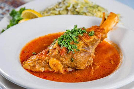 Pars Cuisine: Lamb Shank With Baghela Polow