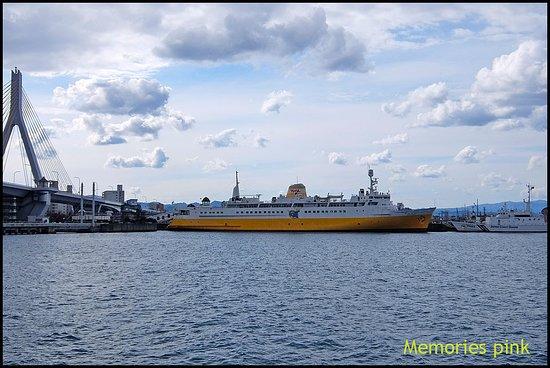เรือHakodamaruยังคงจอดเที่ยวท่าอยู่