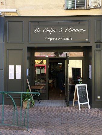 La crepe a l 39 envers menton restaurant reviews photos - Hotels in menton with swimming pool ...