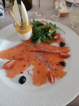 Noailhac, Francia: un délice de saumon