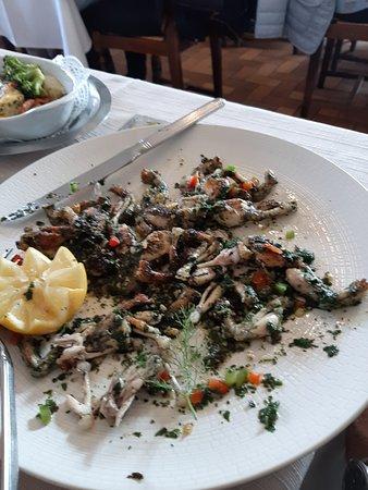 Noailhac, Francia: cuisses de grenouilles