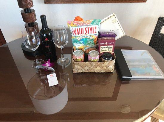 Hyatt Regency Maui Resort and Spa: Welcome Package