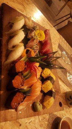 Melhor sushi e da melhor qualidade