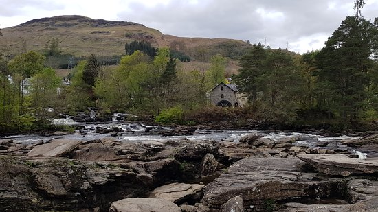 Mundo Escocia: Falls of Dochart (Killin)