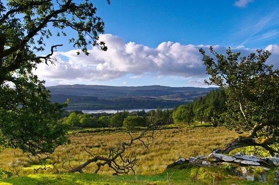 Kintyre Peninsula, UK: Kintyre looking over west loch to Knapdale