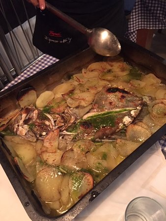 John Dory - baked. Enough for 4 people!
