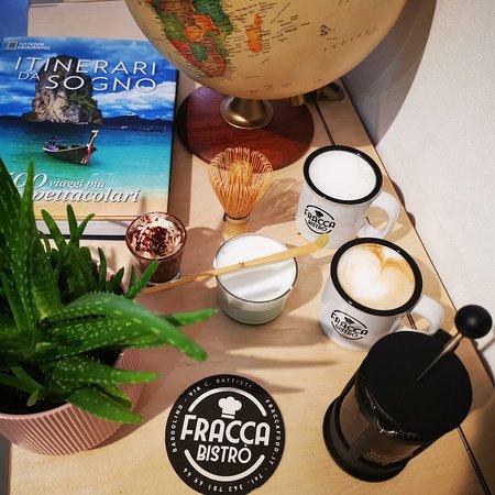 Fracca Bistrò: Espresso, matcha, French press, Marocchino, americano...
