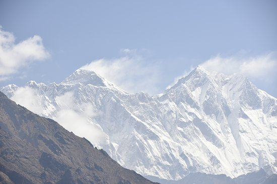 Mt. Everest from Namche Bazar