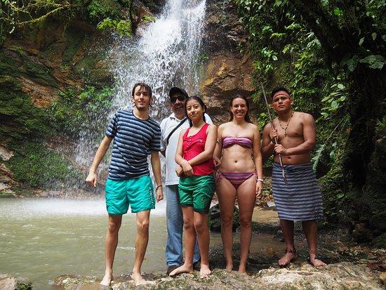 Sucua, Ecuador: Cascada mayor Kintia Panki