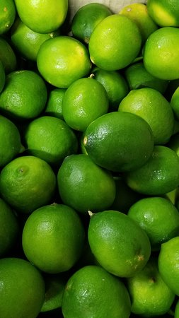 Fresh Limes just arrived. Time to make Cherry Limeade