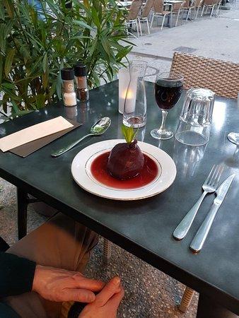 Poires au vin du Côtes-du-Rhône