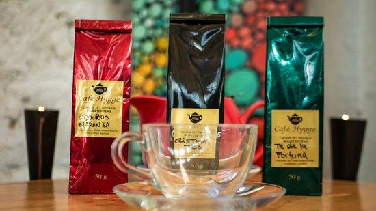 Café Hygge: 20 variedades de té de hoja importado