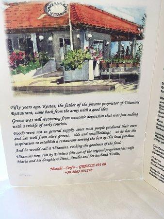 Vitamins Taverna: Taverna Vitamins History.