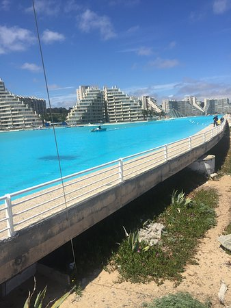 Largest Pool In Chile >> The Largest Pool In The World Algarrobo Chile Picture Of