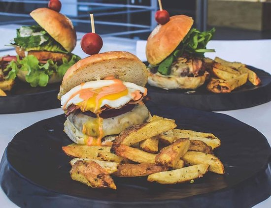 Trigolia burger!